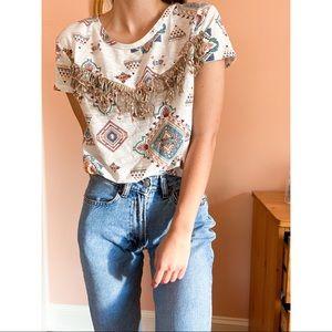 Beautiful boho shirt